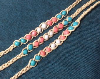 Transpride Wish Bracelet (cotton)