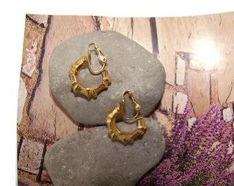 Vintage Hoop Earrings, Clip Earrings, Hoops, Clip on Earrings, Small Hoop earrings, Clips, Gift for her, vintage costume jewelry, earrings