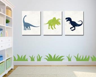 Dinosaur Baby Shower - Dinosaur Decor - Dinosaur Nursery - Dinosaur Wall Art - Dinosaur Nursery Art - Nursery Decor - Baby Boy Nursery