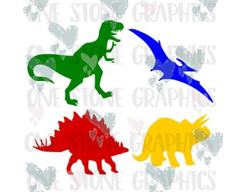Dinosaurs svg,dinosaur bundle,svg dinosaur bundle,T-rex svg, pterodactyl svg,stegosaurus svg,triceratop svg,dino svg,dinosaurs