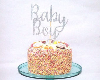 Cake Topper, Baby Boy Cake Topper, Boy Baby Shower, Baby Shower Cake Topper
