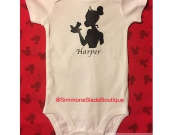 Princess Tiana Personalized Onesie
