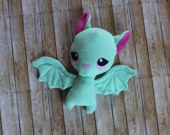 Bat Plushie, Toddler Stuffed Bat Plush, Kids Stuffed Animal