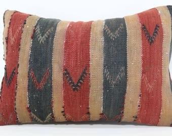 16x24 Turkish Kilim Pillow Sofa Pillow 16x24 Embroidered Kilim Pillow Sofa Pillow Throw Pillow Ethnic Pillow Cushion Cover SP4060-605