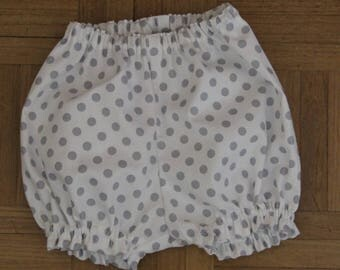 Cotton T-6 month bloomers