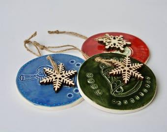 Christmas Ornaments Set of three