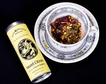 Sweet Citrus Loose Leaf Herbal Tea