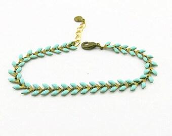 Fancy (blue) BCFA10001 bracelet