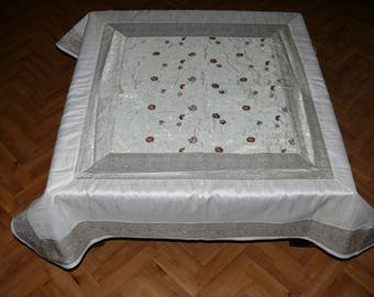 Oriental Tablecloth Decoration India approx. 120 cm x 120 cm
