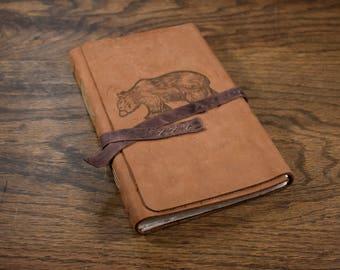 The Wanderer Leather Journal - Bear