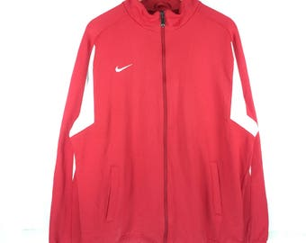 Vintage Nike Pullover Sweater Nike Team Small logo Track Top Jacket Full zipper