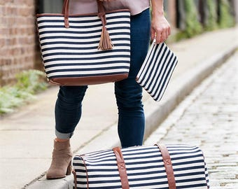 Navy Stripe Collection