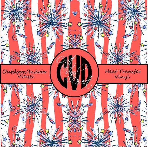 Beautiful Patterned Vinyl // Patterned / Printed Vinyl // Outdoor and Heat Transfer Vinyl // Pattern 138
