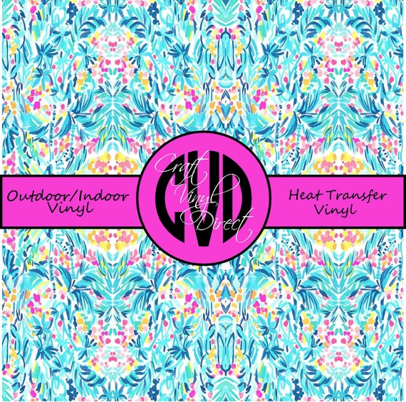 Beautiful Patterned Vinyl // Patterned / Printed Vinyl // Outdoor and Heat Transfer Vinyl // Pattern 713