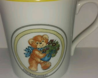 Vintage 1983 Lucy Rigg and Me Made in Japan Coffee Mug Enesco