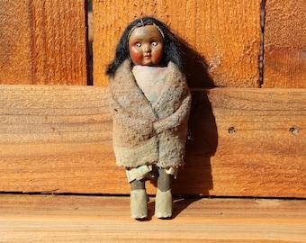 Skookum Blanketed Indian Doll