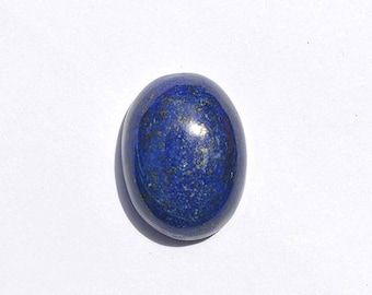 28.5 Cts Natural Lapis Lazuli Gemstone Cabochon Oval Lapis Loose Cabochon 21x16x8 MM SG3285
