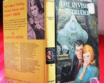 The Invisible Intruder (Nancy Drew Mystery Stories) by Carolyn Keene. New York: Grosset & Dunlap Publishers, [1969].