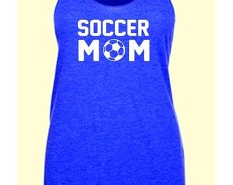 Custom for Amanda - soccer mom tank
