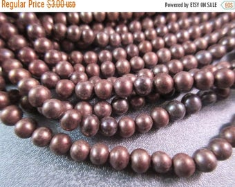 ON SALE 15% OFF Bronze Freshwater Pearl Potato Beads 80pcs