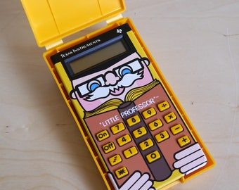 Rare vintage Little Professor Texas Instruments , 1980's