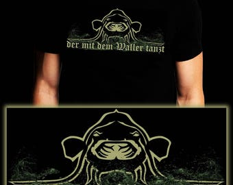 Who dances with the Waller | Waller | Catfish | Fishing T-shirt | S-3XL