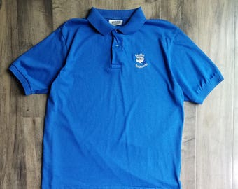 90s Seahawks Helmut Logo Embroidered Polo Size L
