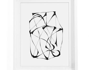 Abstract Printable Poster, Abstract Wall Art, Minimalist Wall Art, Minimalist Decor, Abstract Poster, Modern Wall Art, Modern Decor
