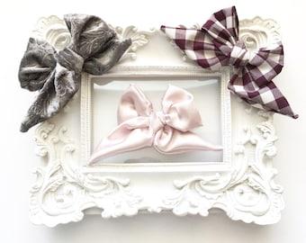 NEW FALL COLLECTION...Sailor bows, bows, headband, baby girl