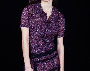 Junya Watanbe Comme Des Garcons RARE sheer sheath dress