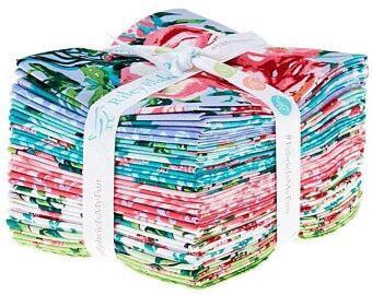 Berkshire Garden Fat Quarter Bundle (18) Pieces (18'' x 22'') by Lila Tueller for Riley Blake Designs #FQ-6840-18 100% Cotton