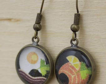Bon Appetit earrings