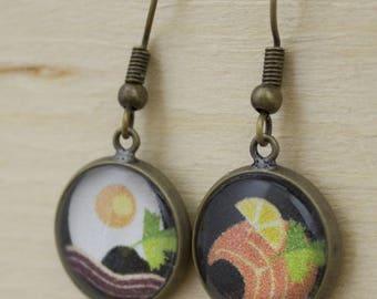 Bon Appetit earrings