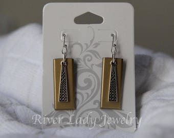 Celtic Braid 32GB Total Storage USB Drive Earrings