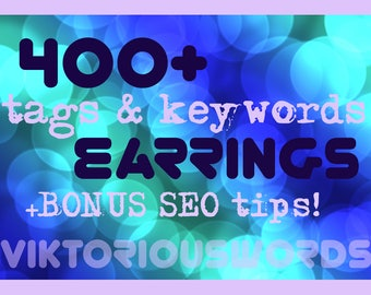 SEO Earrings Keyword for Earrings Tags Jewelry Ready to Use Top Search Keyword How to SEO Help Marketing Search Results Instagram Hashtag