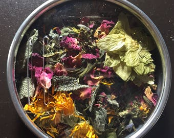 Herbal Hair Tea Rinse