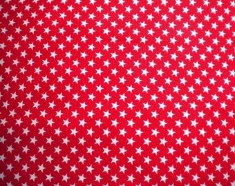 Cotton Fabric, 1/2 yd cut, PATRIOTIC STARS, destash - pay it forward, PIF