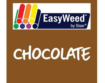 Siser EasyWeed Heat Transfer Vinyl - HTV - Chocolate