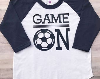 Soccer Kid Shirt, Personalized Soccer Shirt, Custom Soccer Shirt, Soccer Kid Gift, Soccer Birthday Shirt, Soccer Girl Shirt,Soccer Boy Shirt