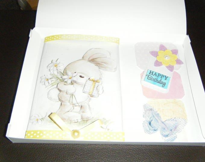 Handmade Decoupage Card
