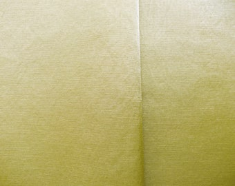 Olive green shiny cotton canvas fabric / high quality