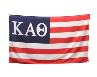 Kappa Alpha Theta USA Flag