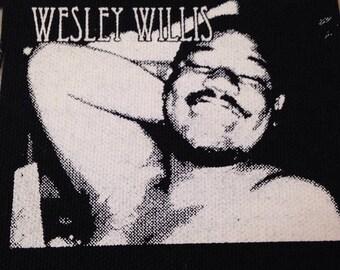 PATCH Wesley Willis silkscreen