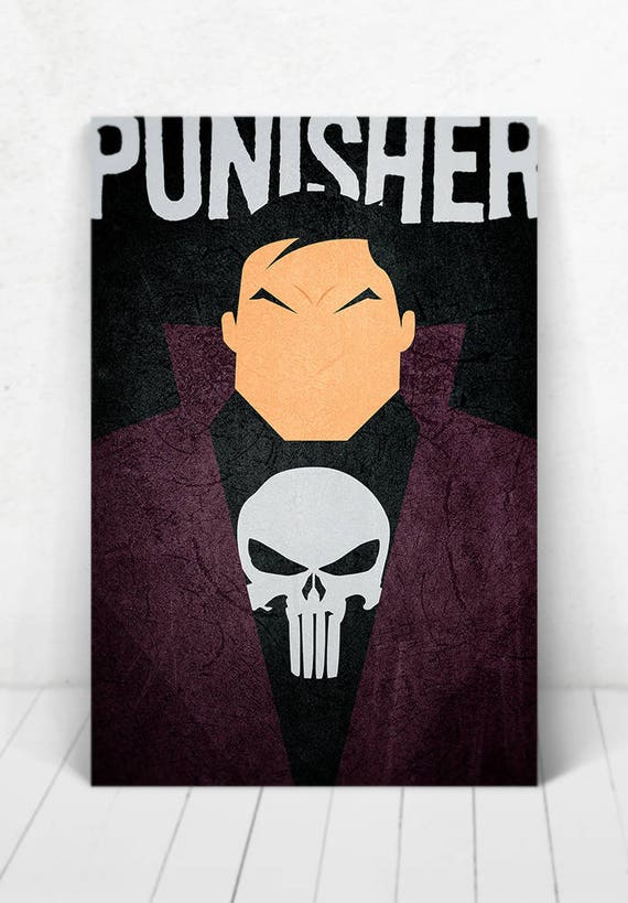 The Punisher Poster - Illustration / Punisher Poster / Punisher