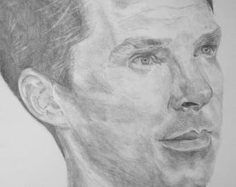 Benedict Cumberbatch 40th Birthday Portrait [PRINT]