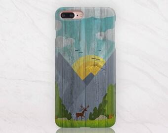 Wood iPhone Case iPhone 8 Case iPhone 7 Plus Case iPhone X Case Samsung S8 Plus Case Samsung Note 8 Case iPhone 8 Plus Case iPhone SE RD1568
