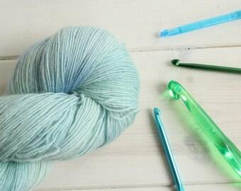 Arcadia Bay - Life is Strange themed hand dyed yarn - lace weight yarn - 100g skein - 100% merino wool