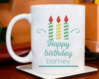 Happy Birthday Personalized Mug A Memorable Birthday Gift for Males