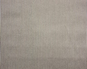 Very Fine Striped Fabric, Gray, Stripe Fabric, Cotton Fabric, Grey, Quilting Sewing Craft Supplies, Extra Wide, Half Metre