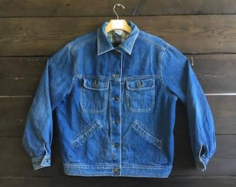 Vintage 50s/60s Lined Denim Jacket